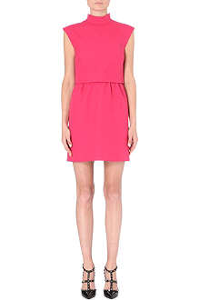 VALENTINO Bow neck sleeveless dress