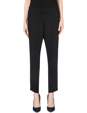 VALENTINO Cady silk jogging bottoms