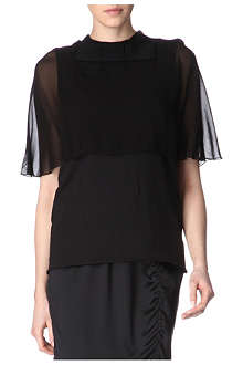 LANVIN Caped top