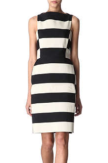 LANVIN Sleeveless striped dress