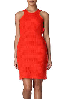 LANVIN Techno woven mesh dress