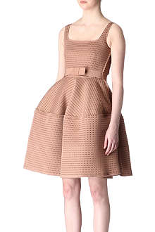 LANVIN Full-skirted neoprene dress