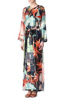 LANVIN Metallic maxi dress
