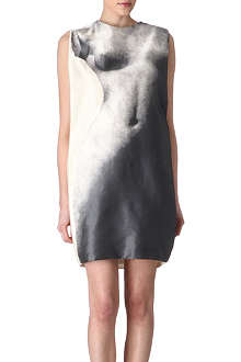 LANVIN Woman-print silk dress