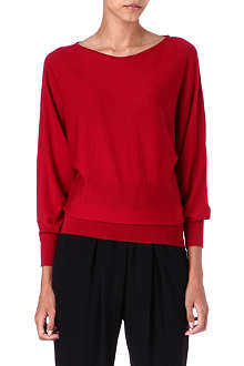 LANVIN Knitted boat-neck jumper