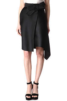 LANVIN Bow-detailed skirt