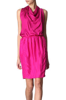 LANVIN Knot-back silk dress