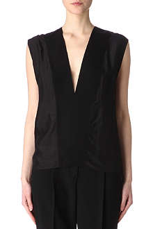 LANVIN Contrast-trim top