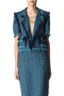LANVIN Sleeveless bouclé jacket