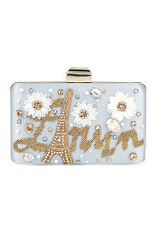 LANVIN Embellished box clutch