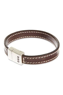 D SQUARED Double leather bracelets