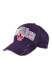 D SQUARED Maple leaf baseball cap