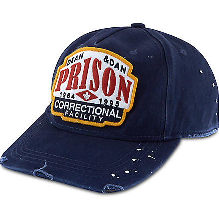 D SQUARED Prison correctional facility cap (Navy