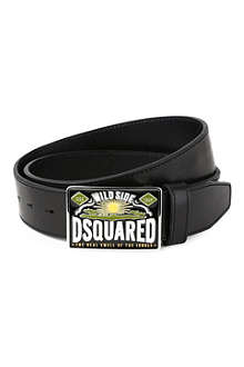 D SQUARED Born in Canada buckle belt