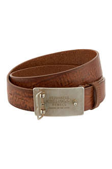 D SQUARED Vintage buckle belt