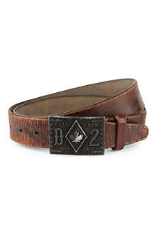 D SQUARED Big buckle western belt