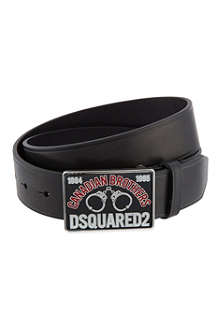 D SQUARED Handcuff buckle belt