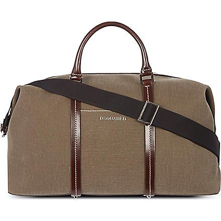 D SQUARED Duffle bag (Brown