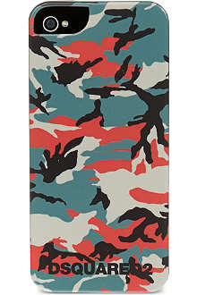 D SQUARED Camouflage iPhone 5 cover