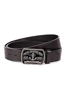 D SQUARED Yacht club leather belt
