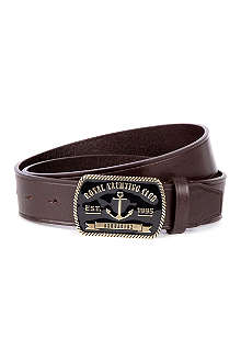 D SQUARED Yacth club leather belt
