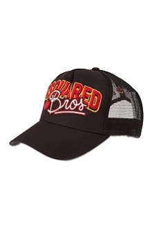 D SQUARED Bros trucker hat