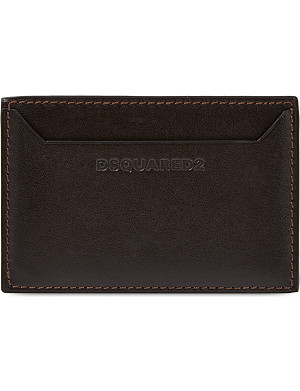 D SQUARED Leather card holder