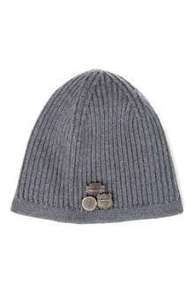 D SQUARED Ribbed knit beanie hat