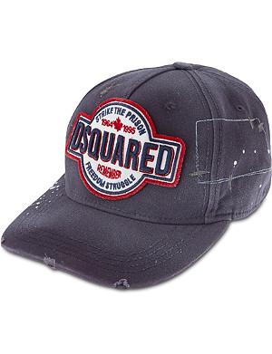 D SQUARED Logo baseball cap