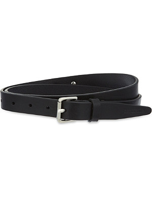 D SQUARED Leather belt with chain