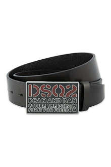 D SQUARED Rectangle buckle belt