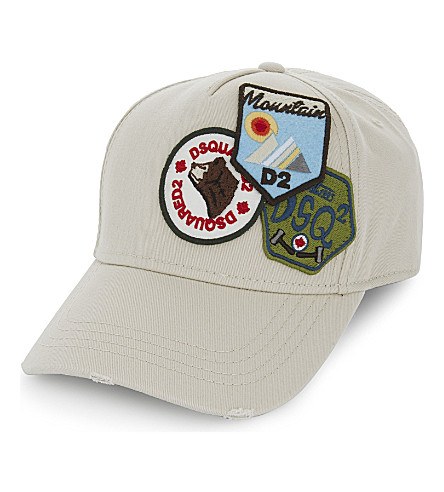 DSQUARED2 Badge cap (Beige