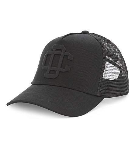 DSQUARED2 CD cotton-blend trucker cap (Black