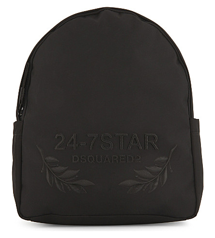 DSQUARED2 24-7 Stars backpack (Black