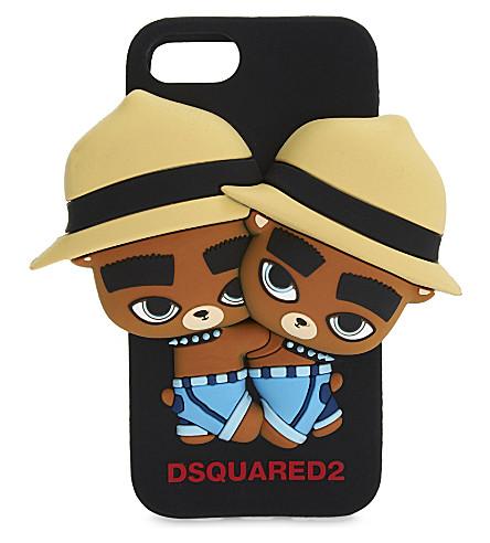 DSQUARED2 Chipmunk iPhone case (Black