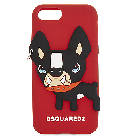 DSQUARED2 Dog iPhone 7 case (Red