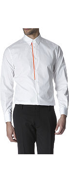 D SQUARED Fluoro-trim single cuff shirt