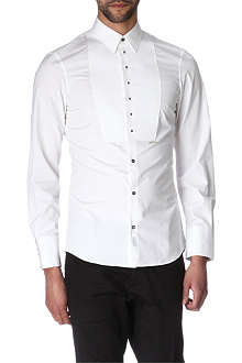 D SQUARED Studded button evening shirt