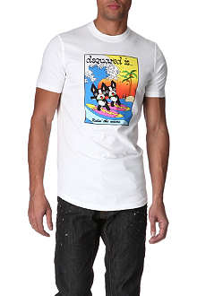 D SQUARED Surf Dogs t-shirt