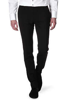 D SQUARED Slim-fit wool-blend trousers