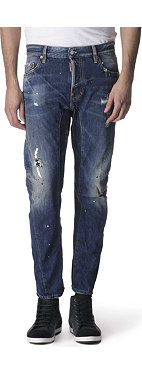 D SQUARED Biker slim-fit tapered jeans