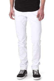 D SQUARED Slim-fit straight coloured jeans
