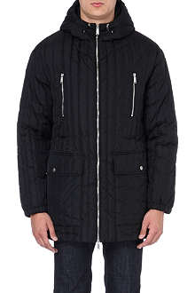 D SQUARED Hooded padded coat