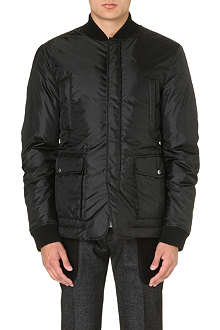 D SQUARED Checked quilted jacket