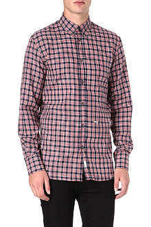 D SQUARED Checked single-cuff shirt