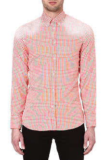 D SQUARED Mini-checked shirt