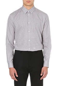 D SQUARED Relaxed classic-print shirt