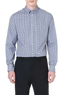 D SQUARED Geo-print regular-fit cotton shirt