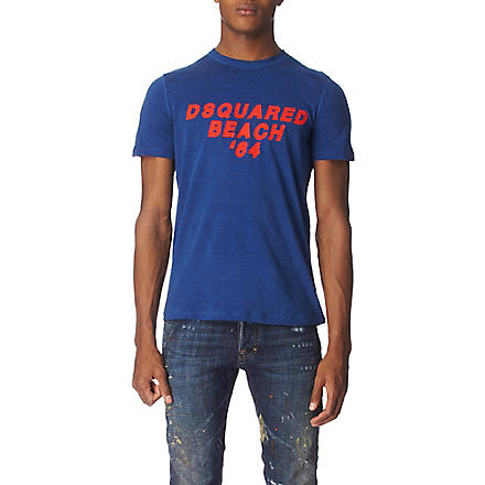 D SQUARED Beach t–shirt (Navy