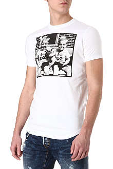 D SQUARED Twin photo T-shirt